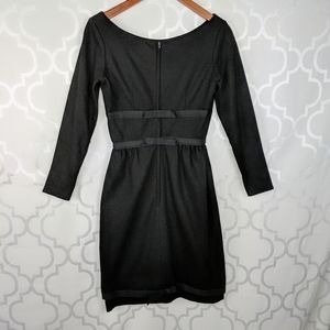 Vtg Maggi Stover 50s 60s Black Bows Dress